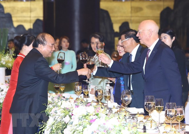 Thủ tướng và phu nhân chủ trì dạ hội Quảng bá Văn hóa Việt Nam