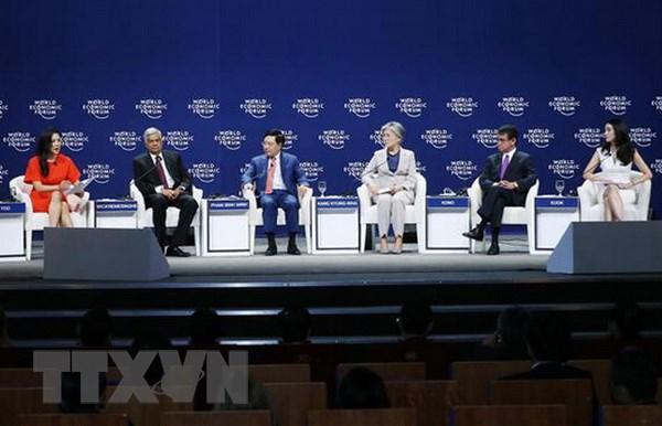 WEF ASEAN: Việt Nam ủng hộ sáng kiến tôn trọng chủ quyền của các nước