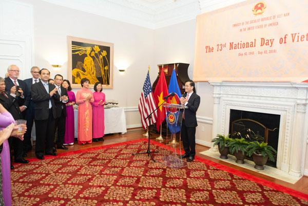 Kỷ niệm 73 năm Quốc khánh Việt Nam tại Hoa Kỳ