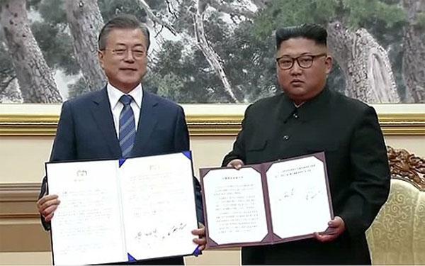Kết thúc Hội nghị Thượng đỉnh liên Triều: 2 bên ký tuyên bố chung