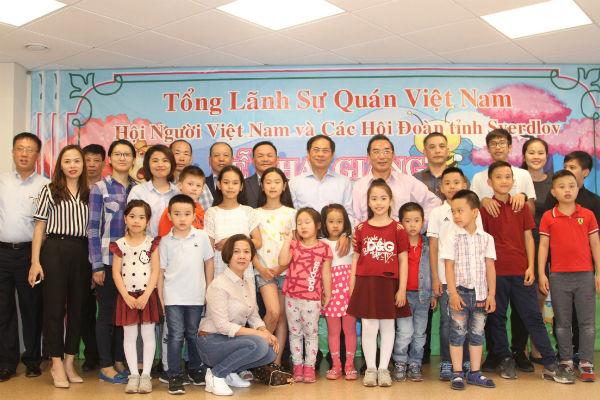 Lớp tiếng Việt tại Ekaterinburg