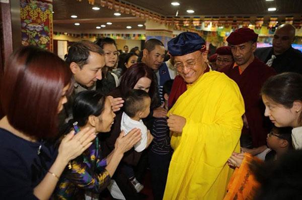 Kiều bào Việt ở Nga dự giao lưu văn hóa Phật giáo với Đức Gyalwang Drukpa