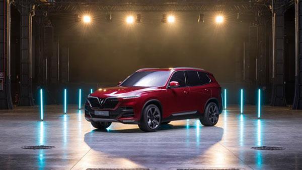 Vinfast công bố tên hai mẫu xe dòng sedan và SUV đầu tiên