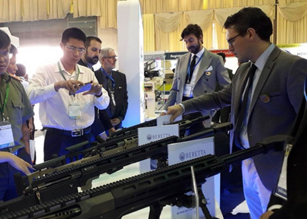 Nhiều công nghệ tối tân góp mặt tại Triển lãm Quốc tế về An ninh