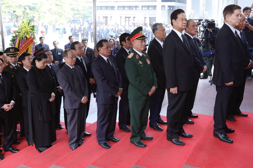 Lãnh đạo Đảng, Nhà nước tiễn biệt nguyên Tổng Bí thư Đỗ Mười