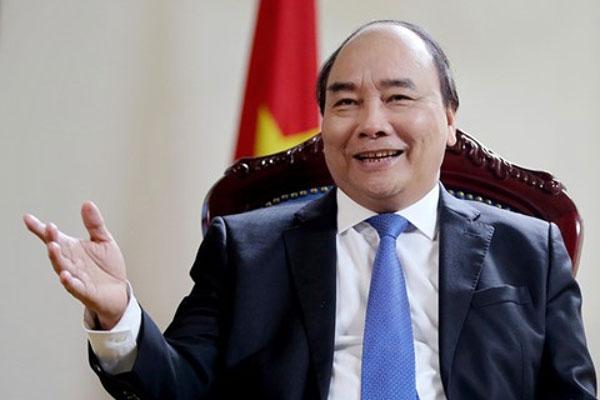 Thủ tướng Chính phủ Nguyễn Xuân Phúc trả lời phỏng vấn báo chí Nhật Bản