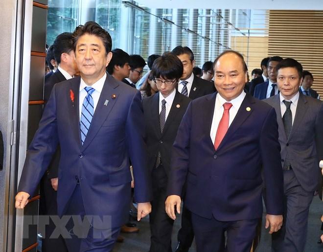 Báo chí Nhật đưa tin đậm về chuyến thăm của Thủ tướng Nguyễn Xuân Phúc