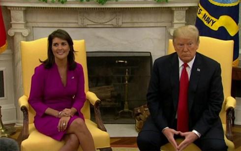"""Đại sứ Mỹ tại Liên Hợp Quốc từ chức: """"Cú sốc lớn"""" với ông Trump"""