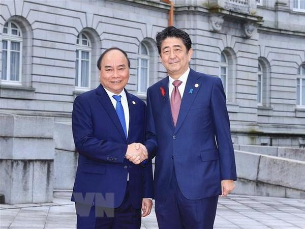 Thắt chặt hơn nữa quan hệ đối tác chiến lược sâu rộng Việt-Nhật