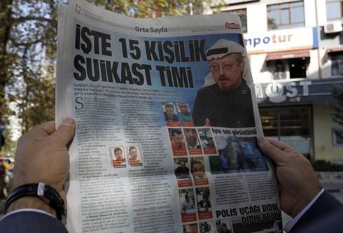 Thổ Nhĩ Kỳ công bố ảnh nhóm sát thủ giết hại nhà báo Saudi Arabia