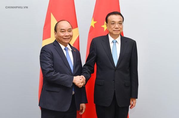 Thủ tướng Nguyễn Xuân Phúc gặp Thủ tướng Trung Quốc, Na Uy bên lề ASEM 12