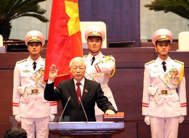 Đồng chí Nguyễn Phú Trọng tuyên thệ nhậm chức Chủ tịch nước
