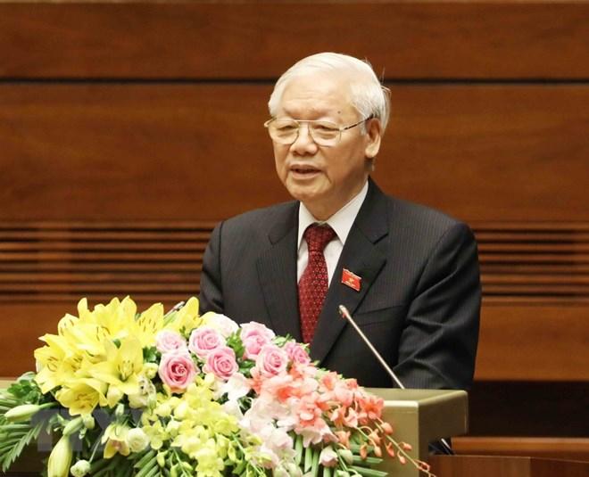 Phát biểu nhậm chức của Tổng Bí thư, Chủ tịch nước Nguyễn Phú Trọng