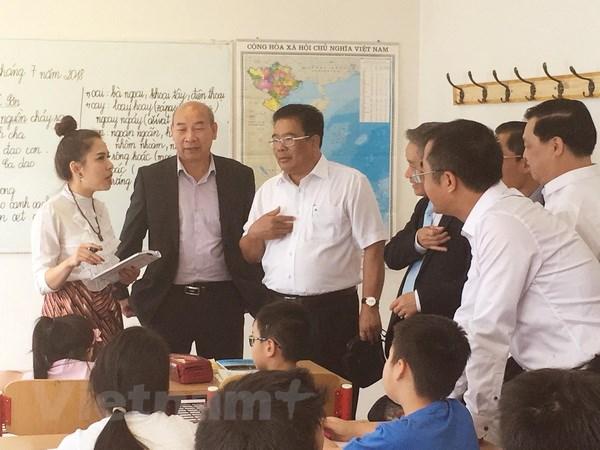 Lan tỏa tinh thần hiếu học trong cộng đồng người Việt Nam tại Séc