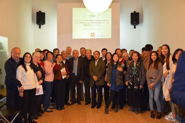 Hội người Việt Nam tại Bỉ kỷ niệm 45 năm ngày thành lập và 40 năm ngày Đoàn lưu học sinh Việt Nam đến Bỉ du học
