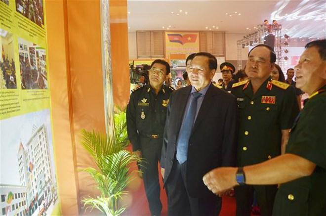 Hơn 200 gian hàng tại Hội chợ Thương mại Việt Nam 2018 ở Campuchia