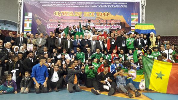 Giải vô địch Châu Phi lần thứ ba võ cổ truyền Việt Nam Quán Khí Đạo