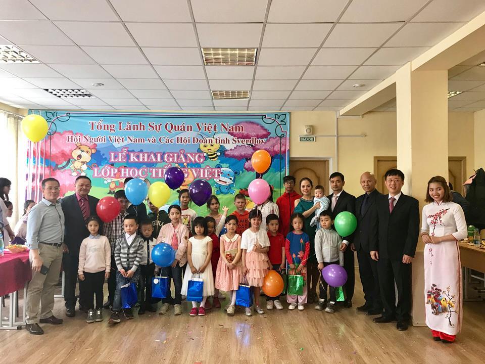 Tâm sự của cô giáo lớp tiếng Việt ở Ekaterinburg