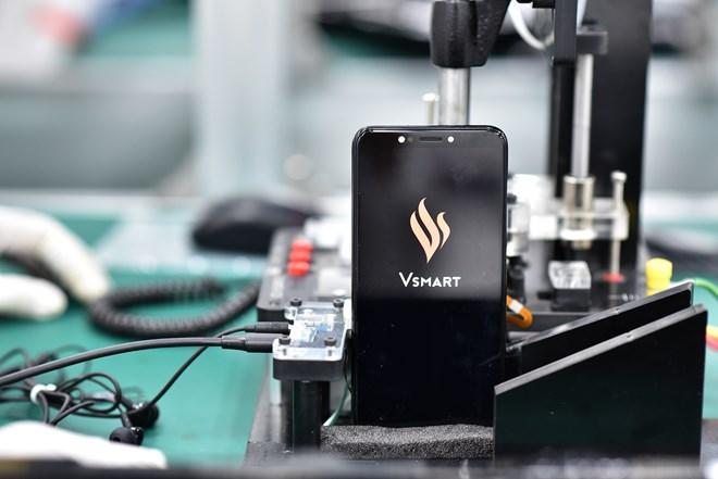 Vingroup ra mắt điện thoại thông minh thương hiệu Vsmart
