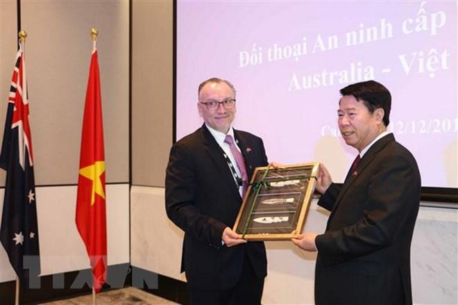 Đối thoại an ninh cấp thứ trưởng lần thứ nhất giữa Australia-Việt Nam