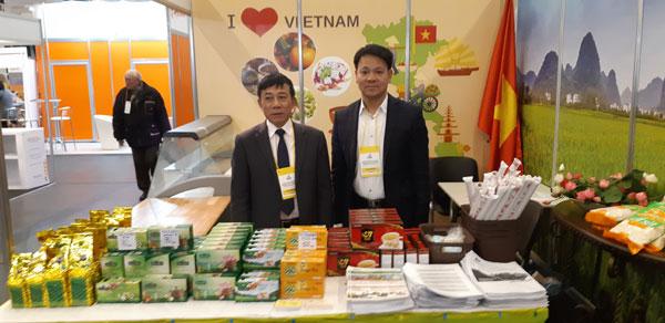 Việt Nam giới thiệu nông sản tại Hội chợ Ukrainian Food Expo 2018