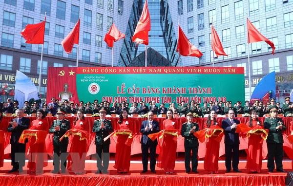 Đưa vào sử dụng tòa nhà khám chữa bệnh hiện đại nhất Việt Nam
