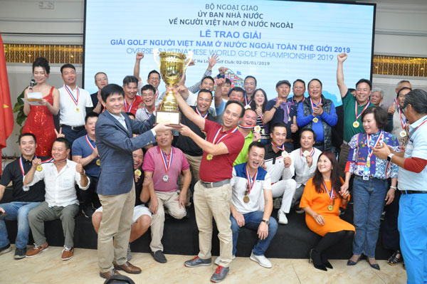 Lễ bế mạc và Trao giải Giải Golf người Việt Nam ở nước ngoài toàn thế giới  2019