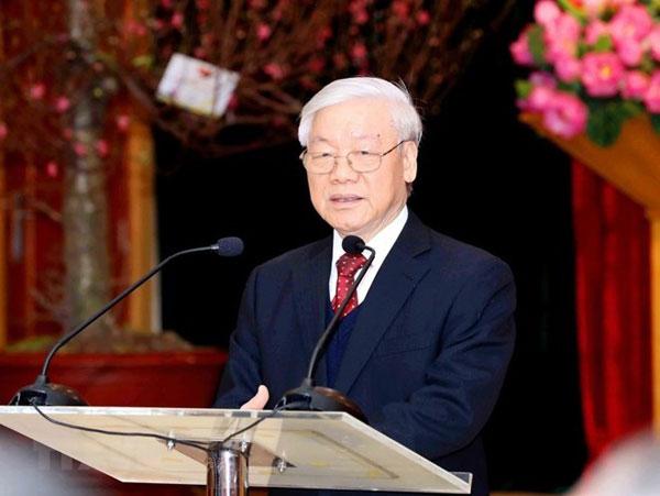 Tổng Bí thư, Chủ tịch nước Nguyễn Phú Trọng trả lời phỏng vấn TTXVN