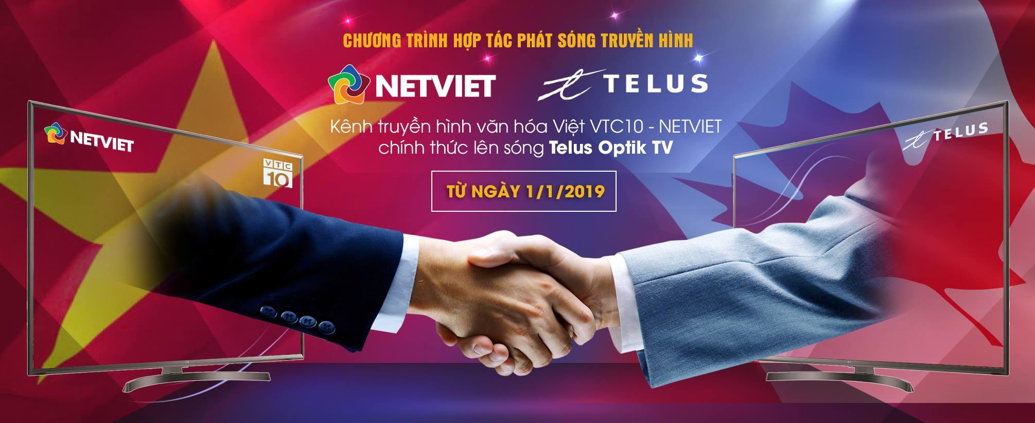 NETVIET Multimedia chính thức hợp tác với TELUS Corp