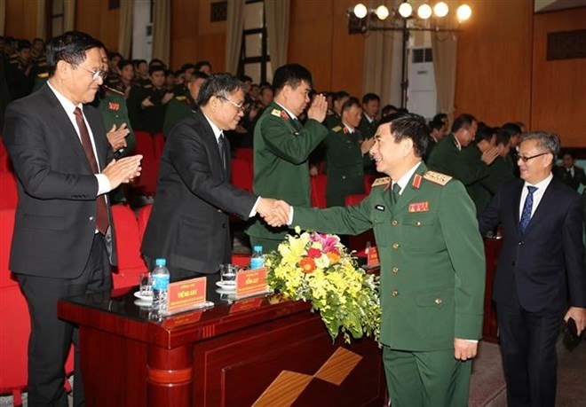 Bộ Quốc phòng kỷ niệm 70 năm Ngày thành lập Quân đội nhân dân Lào
