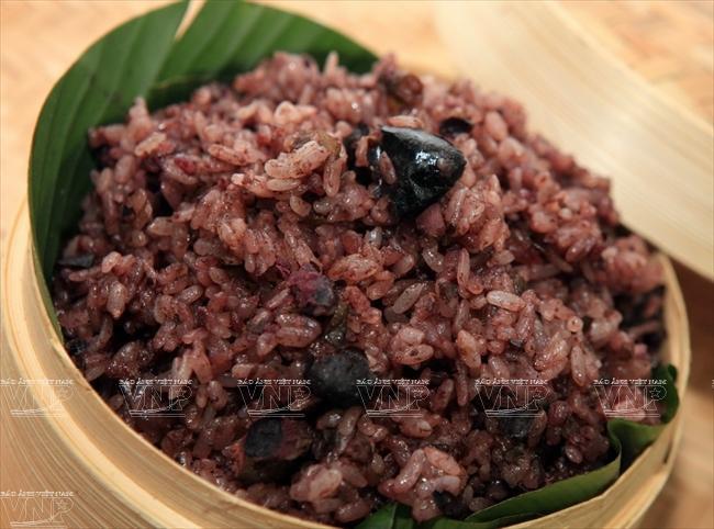 Xôi trám - Món ăn gợi nhớ của Cao Bằng