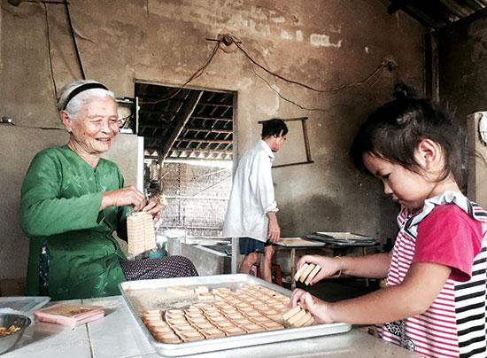 Bánh in ngày cũ