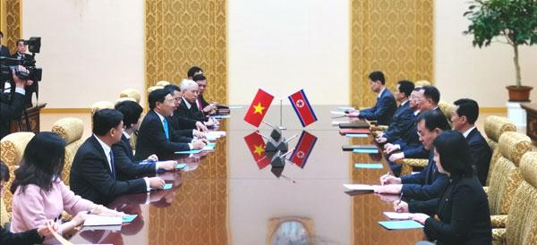 Phó Thủ tướng Phạm Bình Minh thăm chính thức CHDCND Triều Tiên