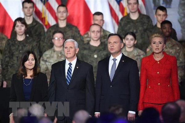 Ba Lan muốn Mỹ tăng cường hiện diện quân sự tại nước này