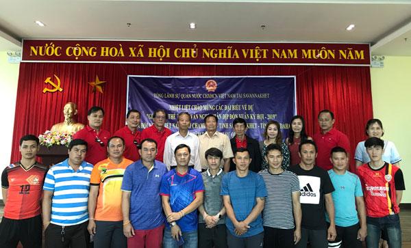 Cộng đồng người Việt tại Lào và Thái Lan giao lưu thể thao, văn nghệ