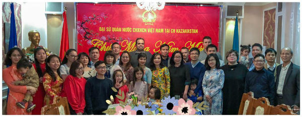 Người Việt ở Kazakhstan tưng bừng đón Tết cộng đồng