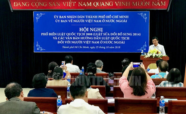 Giữ Quốc tịch Việt Nam là nguyện vọng thiết tha của kiều bào
