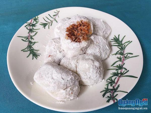 Bánh hột xoài: Dân dã hồn quê