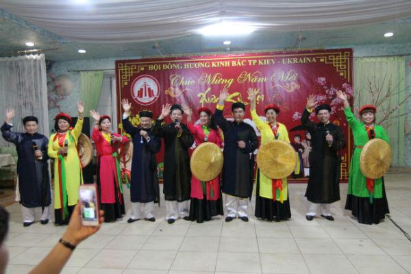 Hội Đồng hương Kinh Bắc thành phố Kiev liên hoan văn nghệ mừng xuân Kỷ Hợi