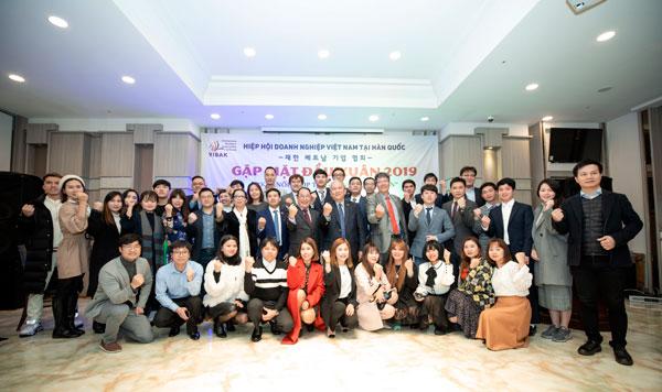 Hiệp hội Doanh nghiệp Việt Nam tại Hàn Quốc gặp gỡ đầu Xuân 2019
