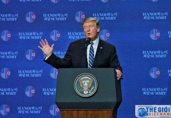 """Tổng thống Trump: """"Tôi thà làm đúng hơn là làm nhanh"""""""