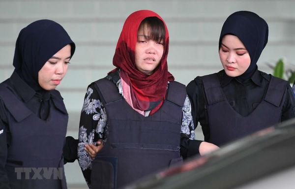 Malaysia quyết định hoãn phiên xét xử nghi phạm Đoàn Thị Hương