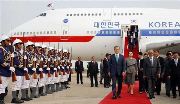 Tổng thống Hàn Quốc cam kết mở rộng hợp tác với Campuchia