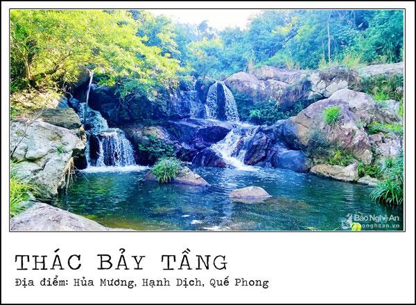 Những thác nước đẹp hùng vĩ nổi tiếng xứ Nghệ