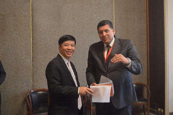 Thứ trưởng Ngoại giao Nguyễn Quốc Cường thăm Ai Cập