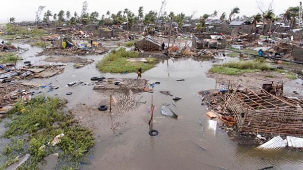 Điện thăm hỏi nước Cộng hòa Mozambique về siêu bão Idai