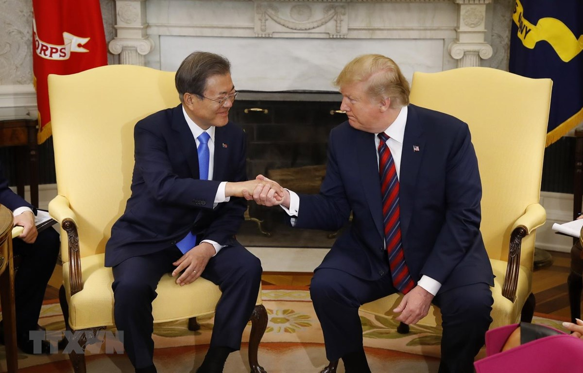 Hàn-Mỹ nhất trí xúc tiến tổ chức sớm hội nghị thượng đỉnh liên Triều