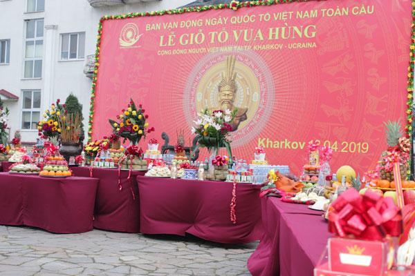 Người Việt Nam tại Kharkiv - Ucraina tổ chức Lễ Giỗ tổ Vua Hùng