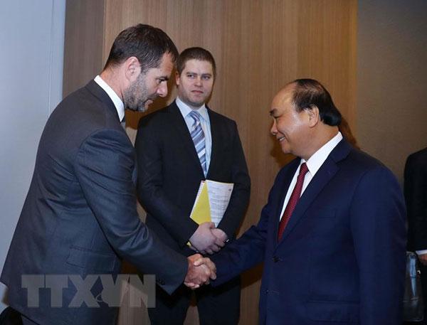 Thủ tướng tiếp nhà đầu tư lớn nhất của Czech vào Việt Nam