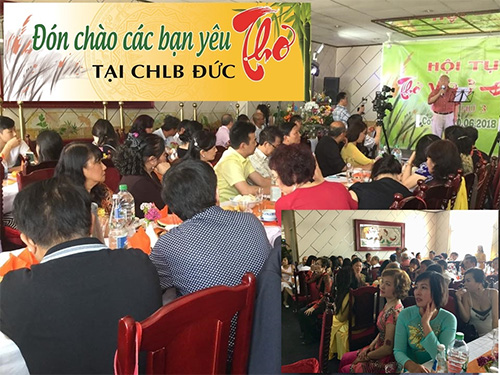 Ngày Hội tụ Thơ Việt ở Đức